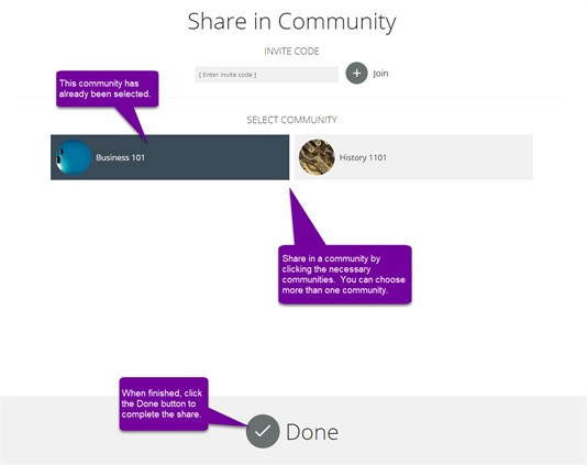 Project Community Share